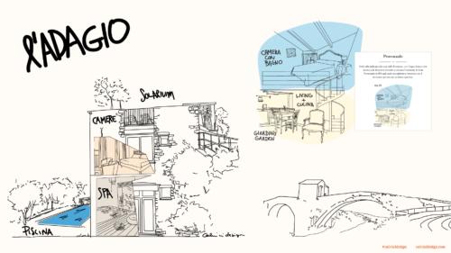 L'Adagio, tanti stili tra gli ulivi - Badalucco