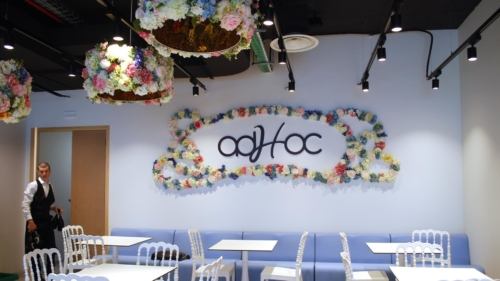 AdHoc SanremoThe Mall Sanremo FOOD LOUNGE BY adHoc